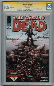 Walking Dead #85 Flip Variant CGC 9.6 Signature Series Signed Robert Kirkman Image comic book